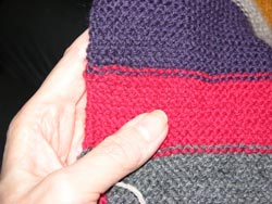 hiding the yarn ends with weaving weaving should always be done in a manner to make it as invisible as possible
