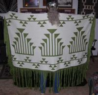 Dance Shawl ~ Acrylic or Merino Wool ~ Frogs Hand Triple Snake Nose Design ~ Sel