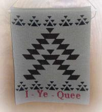 I-Ye-Quee Greeting Wallhanging ~ Friendship Design ~ Select Colors