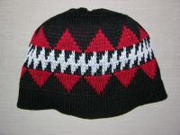 Featured Design ~ Sturgeon ~ Adult Knit Native Beanie Version 2