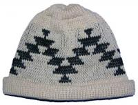 Friendship Native Basketry Mark on this Baby Indian Beanie Acrylic