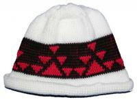 Little Goose Native Basketry Mark on this Child Indian Beanie