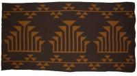Frogs Hand is featured on this Native 2C Blanket