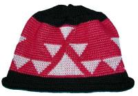 Big Goose Indian Basketry Design in Knit Adult Cap