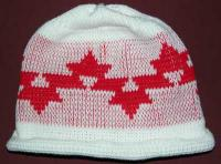 Morning Star Native Basketry Mark on this Child Indian Beanie