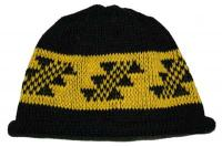 Little Flint Native Basketry Mark on this Child Indian Beanie