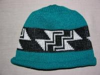 Stairway to Heaven Native Basketry Mark on this Child Indian Beanie