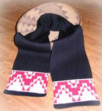 Mush Pot Native Scarf ~ Select Acrylic or Merino Wool Yarn and Colors