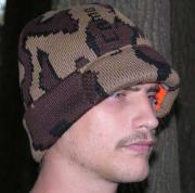 Camo Winona© Survivor Hat in Colorway Q