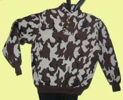 Winona Camo Elite Fatique Knit Sweater in color way E