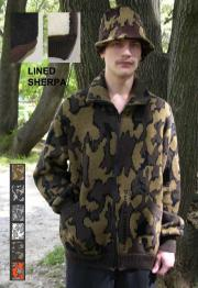"""A Knit Lined Winona Camo Classic© Cardigan Jacket ~ choose color & Size ~ 100%"