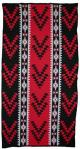 Friendship Design featured on this four color Hupa Karuk Yurok Blanket