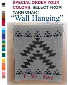 I-Ye-Kee Greeting Wallhanging ~ Friendship Design ~ Select Colors