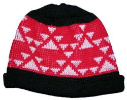 Native Knit Basketry Cap featuring the Double Goose Design ~ Select OPTIONS