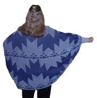 Knit Shrug featuring the Swallow Tail Basketry Motif ~ Select Colors