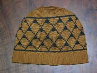 Knit Basketry Hat Design inspired by the LUISEÑO Indians of SouthWest Ca