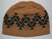 Native Knit Basketry Cap featuring Sports Tattoo Design ~ Select OPTIONS