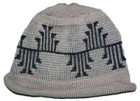 Frogs Paw Design is Featured on this Indian Beanie ~ Select OPTIONS