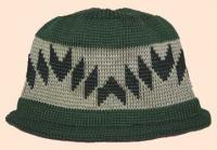 Walking on the Mountain Native Basketry Mark on this Child Indian Beanie