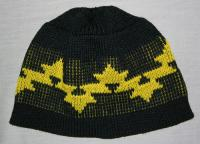Morning Star Basketry Design is featured on this Knit Native Beanie