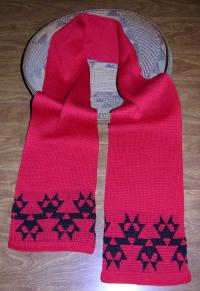 Morning Star with Butterflies Native Scarf ~ Select Acrylic or Merino Wool Yarn