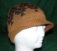 "Sports Tattoo Basketry Mark on this Bill Cap with 1.5"" visor"