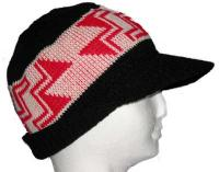 Stairway to Heaven Basketry Mark on this Visor Bill Cap