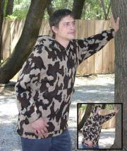 """""""A Knit Hoodie Camo Elite© Winona Pullover Sweatshirt ~ choose color and size"""""""
