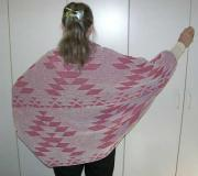 Native Friendship Shrug ~ Back View ~ Select Colors